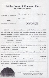 agnostica divorce decree