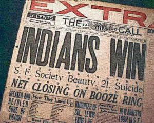 indians win 1920